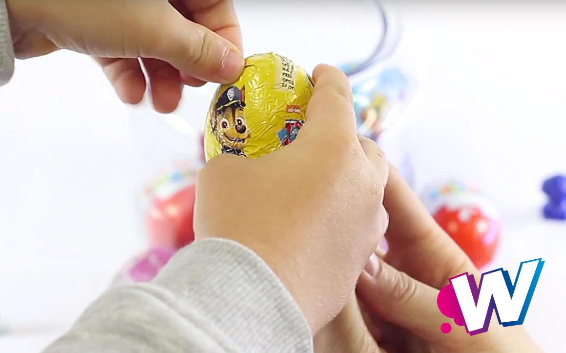 Abrir Huevos Sorpresa Wekids Canal Para Niños De Youtube